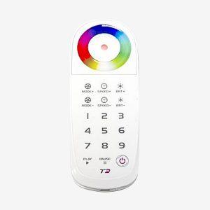 Control Remoto Rueda de Color para Controlador de Cascadas LED